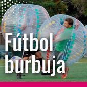 Fútbol burbuja para despedidas de soltero en Pamplona
