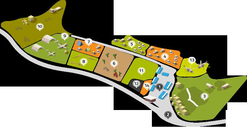 Mapa Campo Multiaventura
